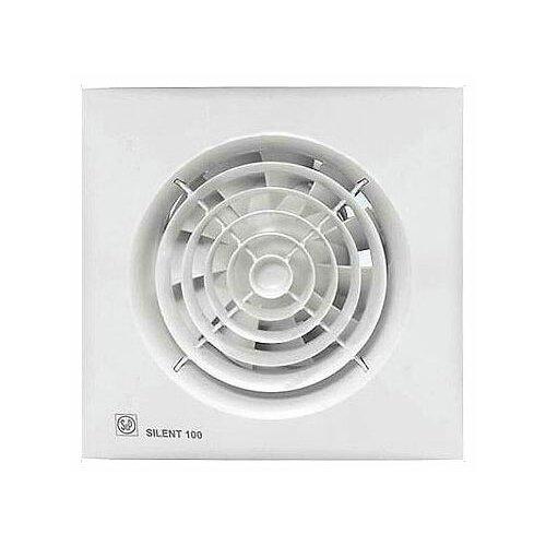 Вытяжной вентилятор Soler #and# Palau SILENT-100 CZ, white 8 Вт