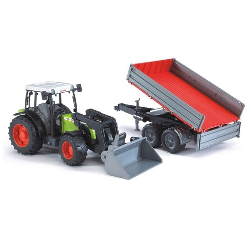 Трактор Bruder Claas Nectis 267F (02-112) 1:16 65.5 см зеленый/серый/красный