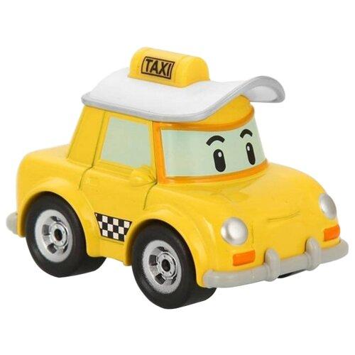 Легковой автомобиль Silverlit Робокар Поли Кэп (83175) 6 см желтый/белый