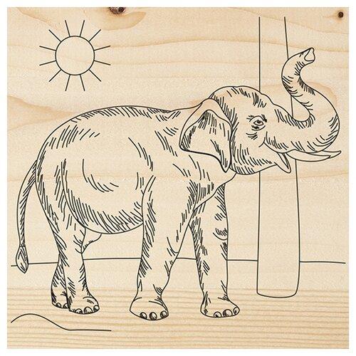 Набор для выжигания Слон