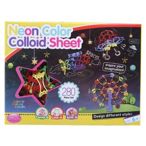 Конструктор ZhiMingXing Neon Color Colloid Sheet