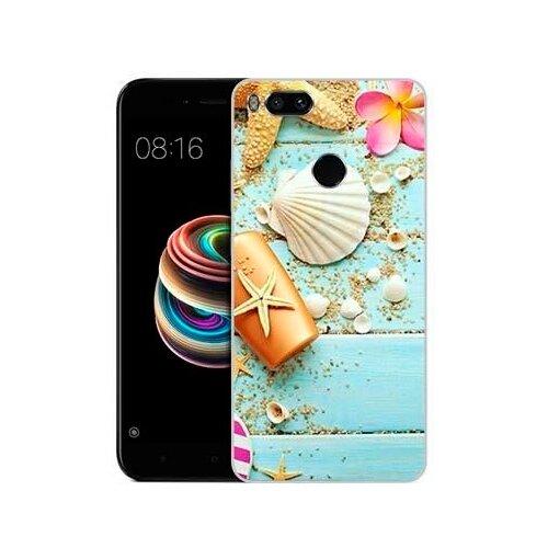 Чехол Gosso 681712 для Xiaomi Mi5X пляжный натюрморт