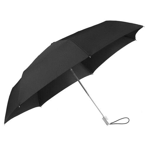 Зонт автомат Samsonite Alu Drop S (7 спиц, большая ручка) черный