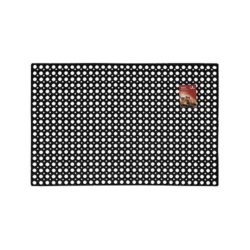 Придверный коврик VORTEX Ячеистый грязесборный, размер: 1.2х0.8 м, черный