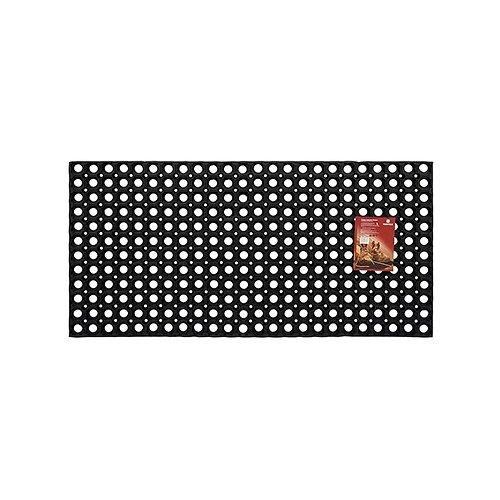 Придверный коврик VORTEX Профи ячеистый, размер: 1х0.5 м, черный