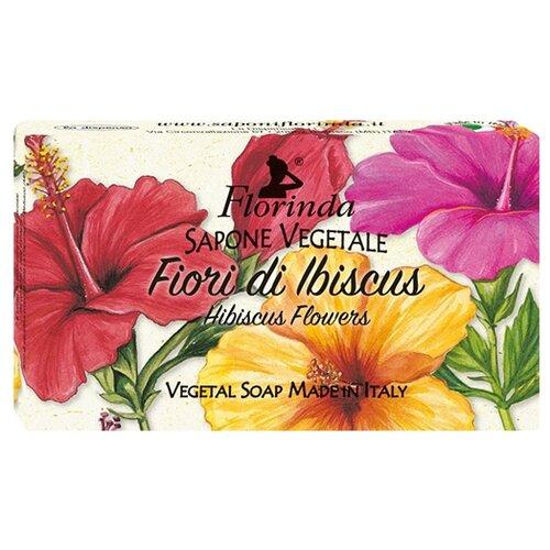 Мыло косметическое кусковое Florinda Ария Цветов Fiori Di Ibiscus, 100 г