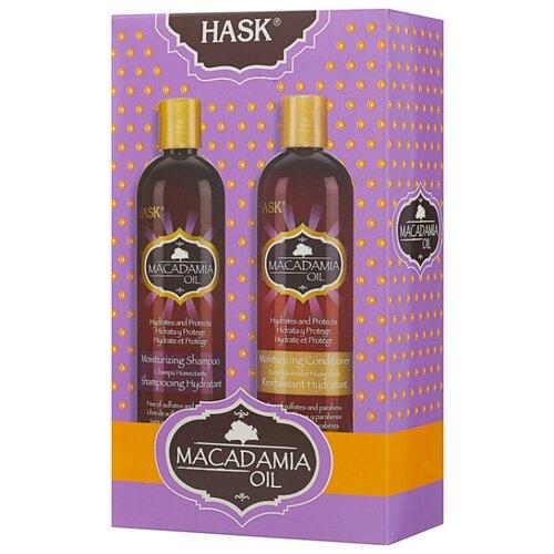 Набор Hask Macadamia для увлажнения волос