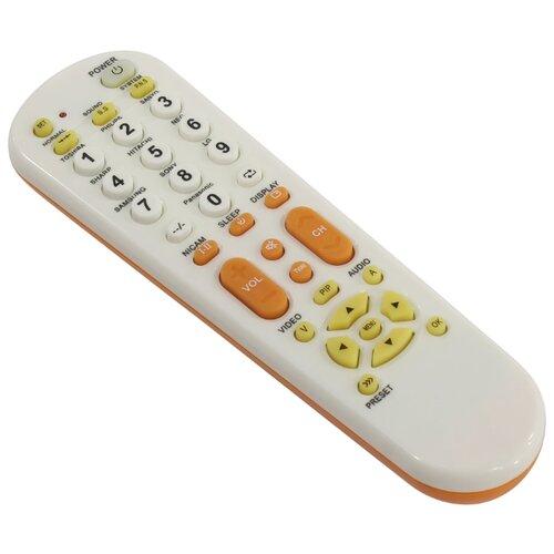 Универсальный пульт ДУ REXANT RX-951 белый/оранжевый