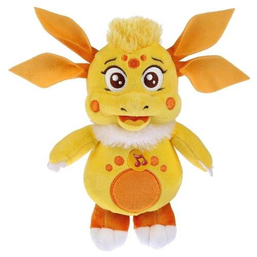 Мягкая игрушка Мульти-Пульти Лунтик и его друзья Луня желтая озвученная 18 см