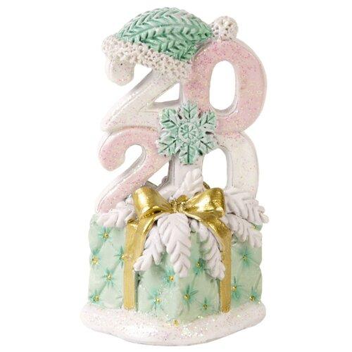 Фигурка Феникс Present Стеганный новый год 8,5 см розовый/зеленый