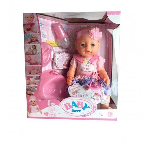 Интерактивный пупс Shantou Gepai Baby Love, 43 см, BL029A