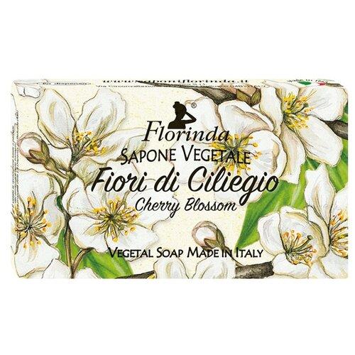 Мыло косметическое кусковое Florinda Ария Цветов Fiori Di Ciliegio, 100 г