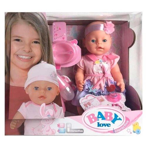 Интерактивный пупс Shantou Gepai Baby Love, 43 см, BL035B