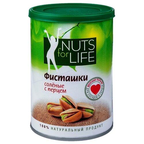 Фисташка Nuts for Life обжаренная соленая с перцем 175 г