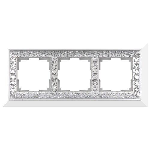 Рамка 3п Werkel WL07-Frame-03, жемчуг