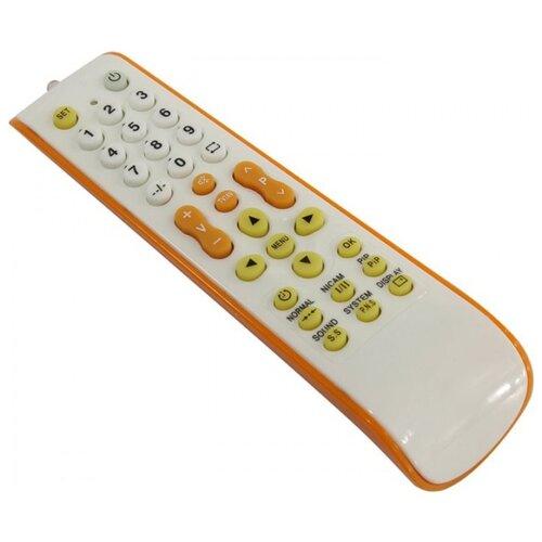 Универсальный пульт ДУ REXANT RX-952 белый/оранжевый
