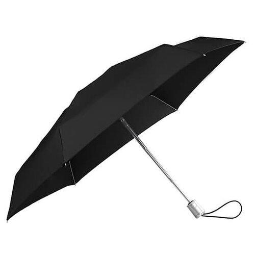 Зонт автомат Samsonite Alu Drop S (6 спиц, большая ручка) черный