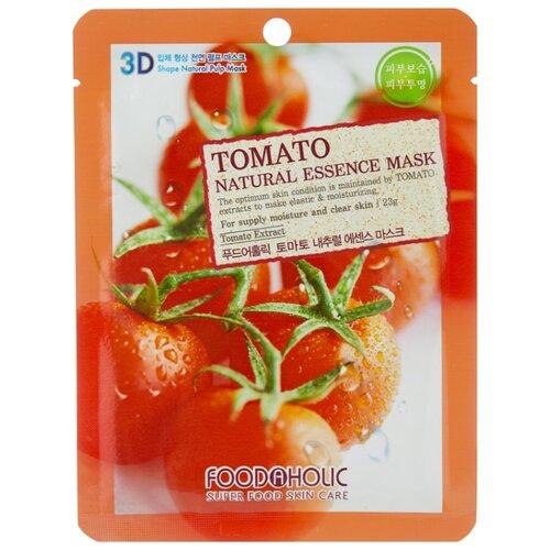 Тканевая 3D маска с натуральным экстрактом томата, 23 г