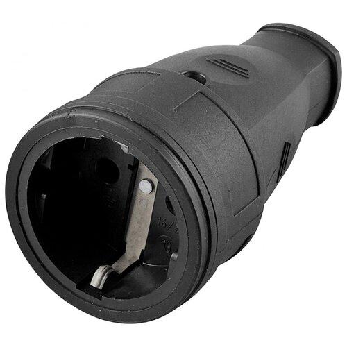 Кабельная розетка STEKKER RST16-21-440 16 А черный