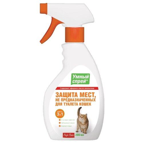 Спрей Apicenna Умный спрей Защита мест не предназначенных для туалета для кошек 200 мл
