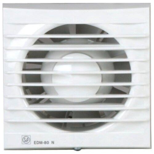 Вытяжной вентилятор Soler #and# Palau EDM-80 N, белый 9 Вт