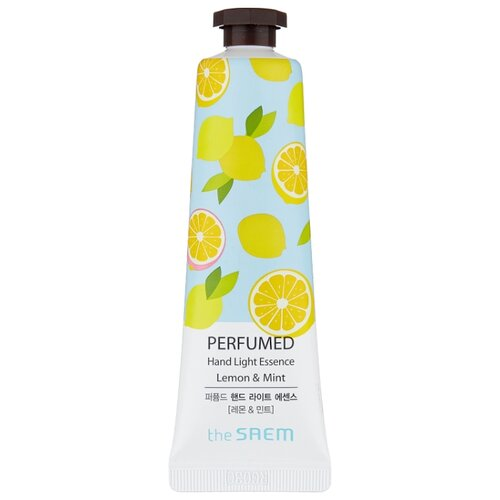 Крем-эссенция для рук The Saem Perfumed hand light essence Lemon mint 30 мл
