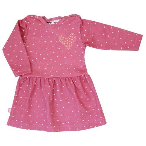 Платье KotMarKot Little Angel размер 62, розовый