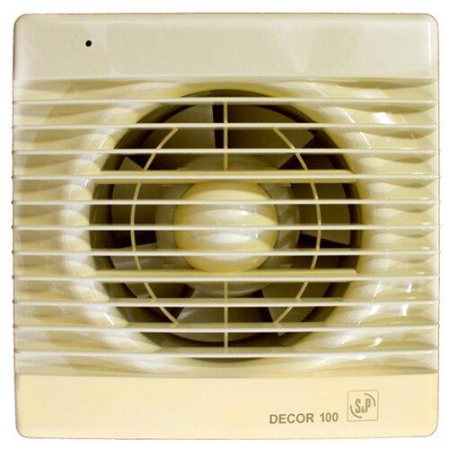 Вытяжной вентилятор Soler #and# Palau DECOR 100 C, ivory 13 Вт