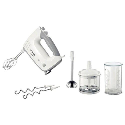 Миксер Bosch MFQ 36480, белый/серый