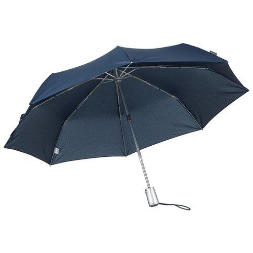 Зонт автомат Samsonite Alu Drop S (8 спиц, большая ручка) синий