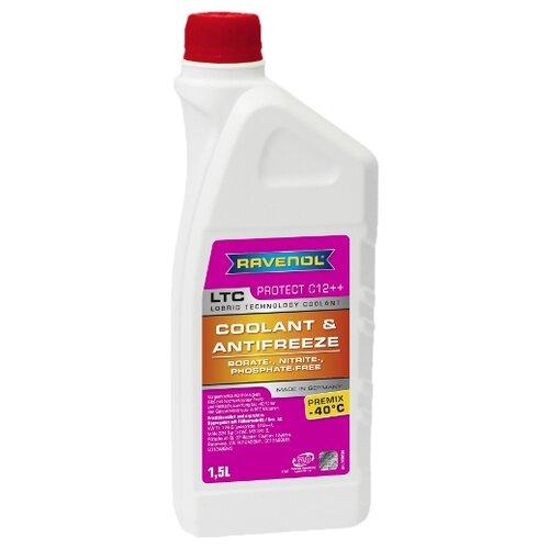 Антифриз Ravenol LTC - Protect C12++ Premix -40°C 1.5 л
