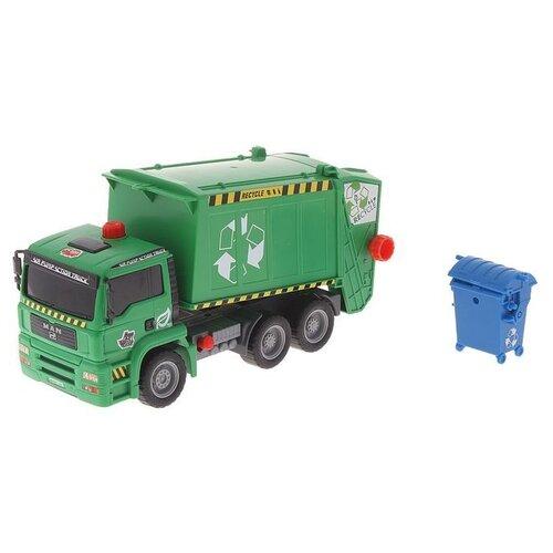 Мусоровоз Dickie Toys Air Pump (3805000) 28 см зеленый