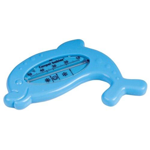 Безртутный термометр Canpol Babies Дельфин голубой