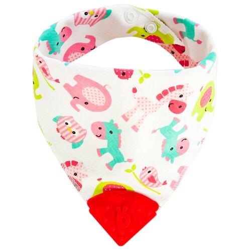 Жирафики милашки 681301, 1 шт., расцветка: животный/розовый/белый/красный
