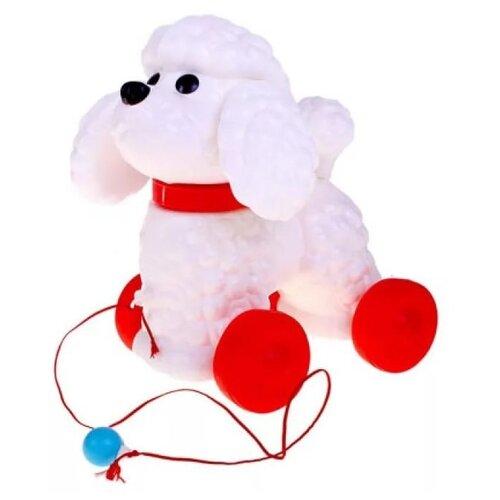 Каталка-игрушка Сима-ленд Фафик (585422) белый/красный