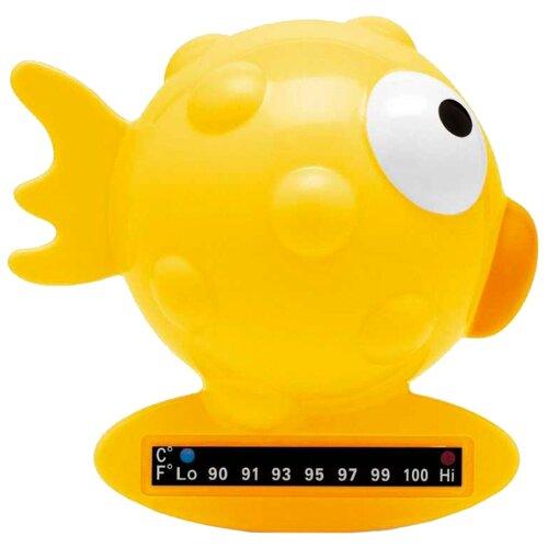 Безртутный термометр Chicco Рыба-шар желтый