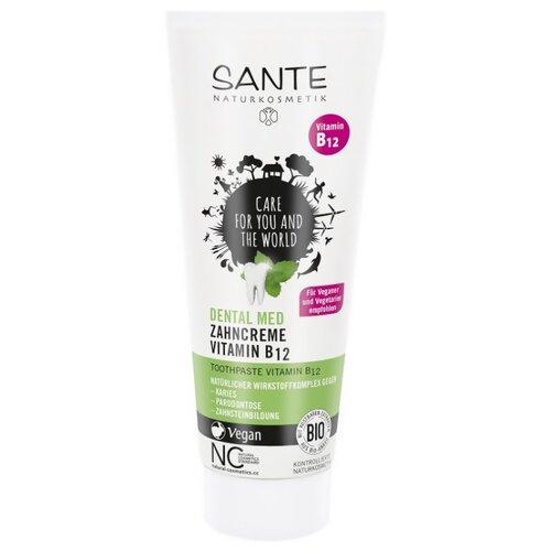 Зубная паста Sante Naturkosmetik С витамином B12 и фтором, 75 мл