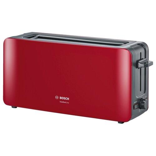 Тостер Bosch TAT6A004, красный
