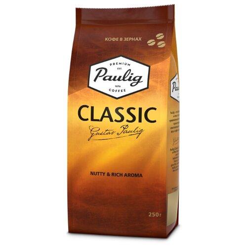 Кофе в зернах Paulig Classic, арабика/робуста, 250 г
