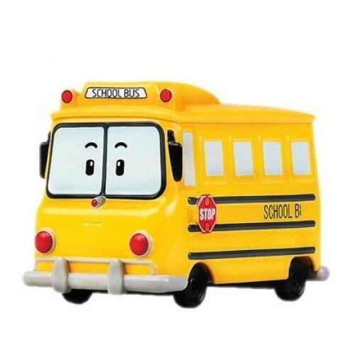 Автобус Silverlit Робокар Поли Скулби (83174) 6 см желтый