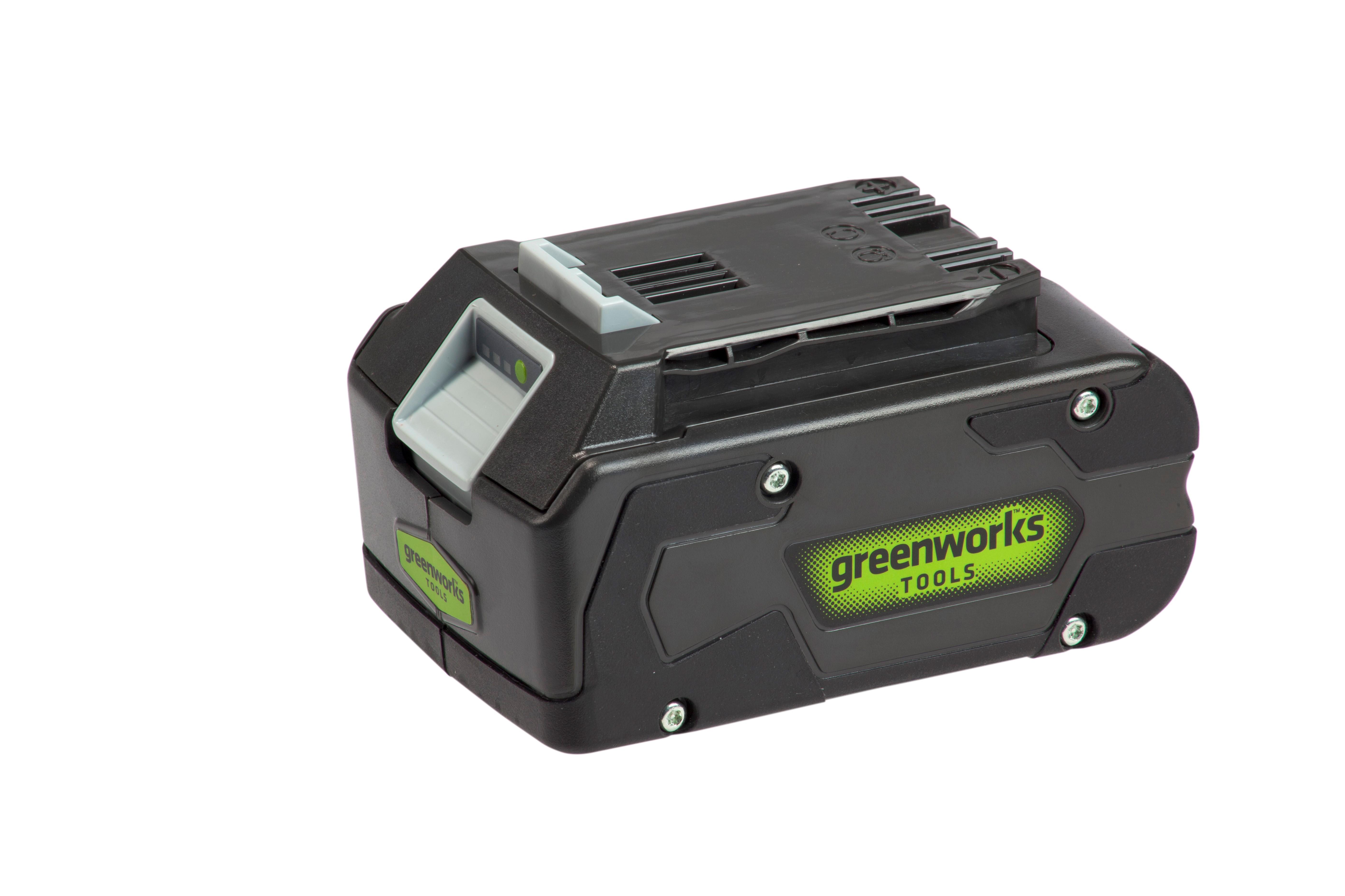Аккумулятор Greenworks 24В 4Ач li-ion (g24b4 2902807 БЕЗ ЗУ)