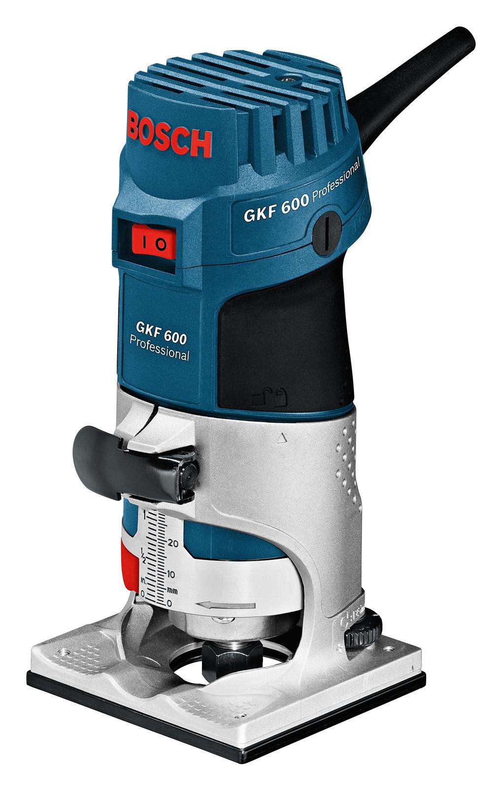 Кромочный фрезер BOSCH GKF 600 (0.601.60A.100)