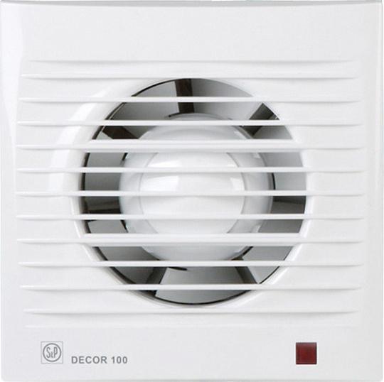 Вытяжной вентилятор Soler#and#palau Decor 100c