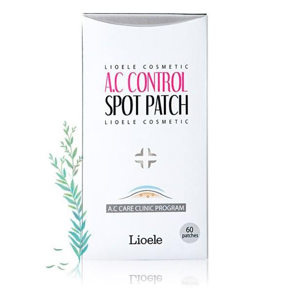 Патчи для проблемной кожи lioele a.c control spot patch set