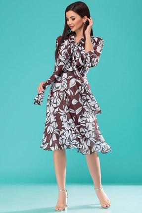 Платье Nadin-N 1775 коричневый