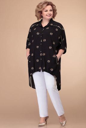 Комплект брючный Svetlana Style 1397 черно-белый