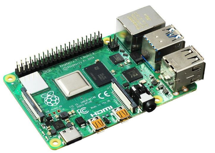 Тонкий клиент Espada Raspberry Pi 4 Model B 4Gb (44589) Broadcom BCM2711 1.5 GHz / 4GB / noHDD / Интегрированая / noDVD / noOS
