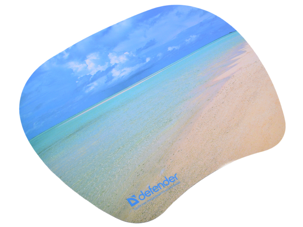 Коврик для  мыши Defender  пластиковый TURBO (ассорти- 4 вида) 210x175x1.2 мм