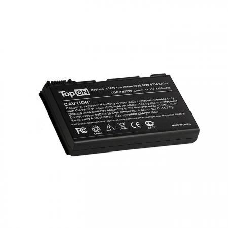 Аккумулятор для ноутбука TopON TOP-TM5520 для Acer Extensa 5220, 5620, TravelMate 5530, 5720 Series 4400мАч 11.1V