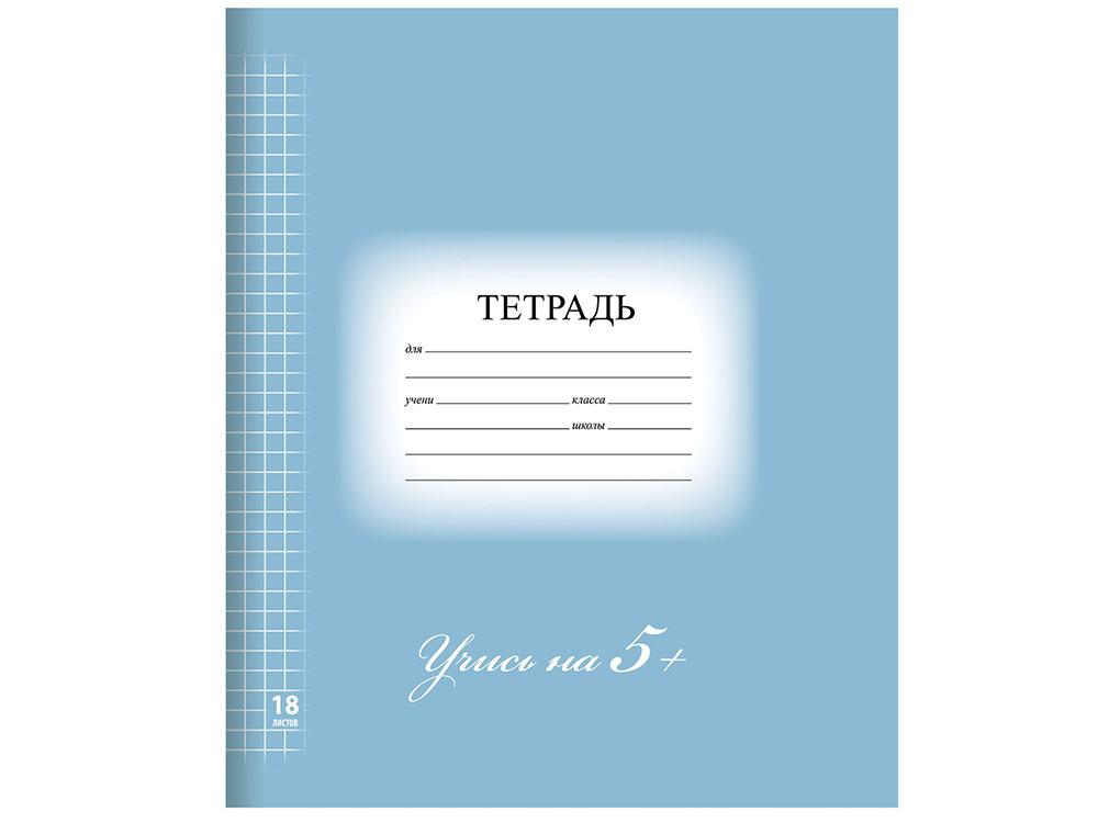 Тетрадь 18 л. BRAUBERG ЭКО \